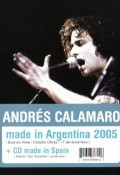 Andrés Calamaro. Made in Argentina 2005